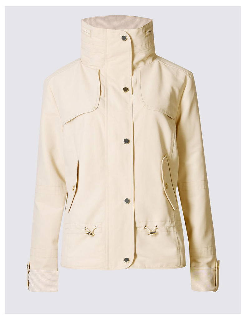 M&S Collection Shortie Anorak Coat with Stormwear