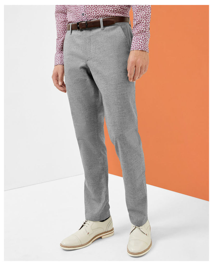 Ted Baker Classic fit trousers Grey