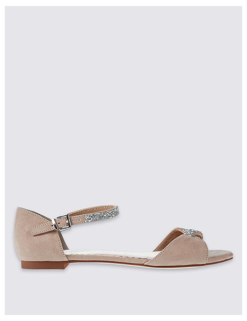 M&S Collection Sparkle Sandals with Insolia Flex