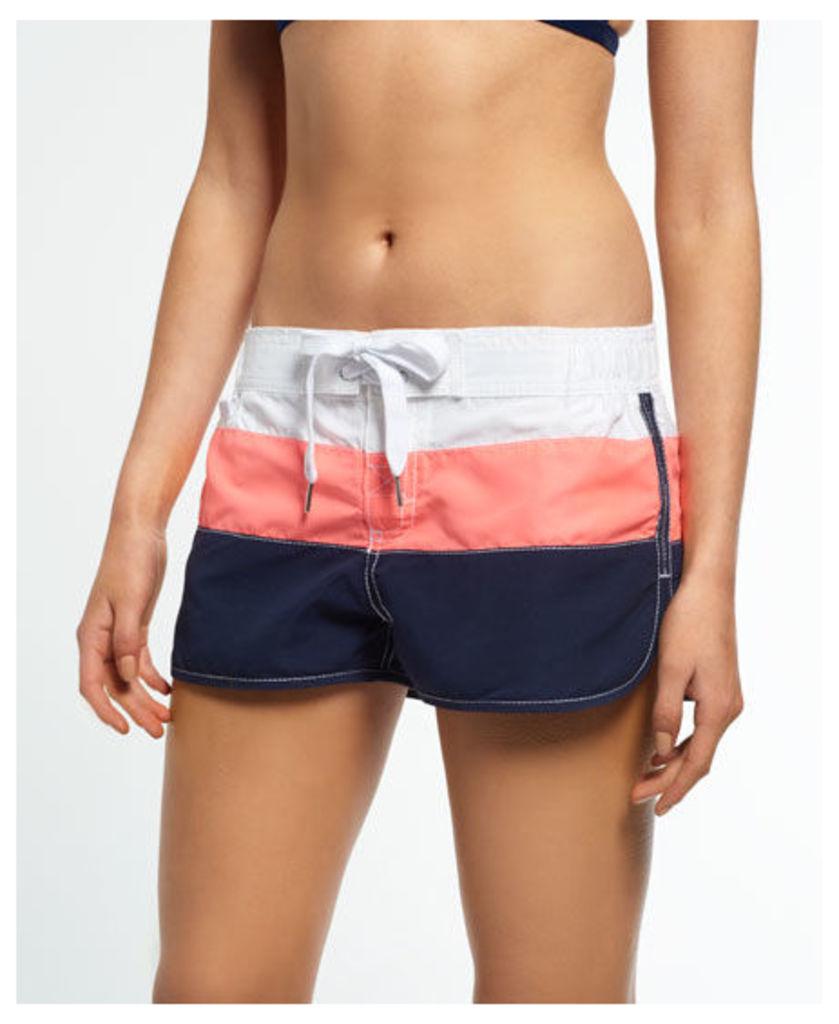 Superdry Cali Stripe Boardshorts