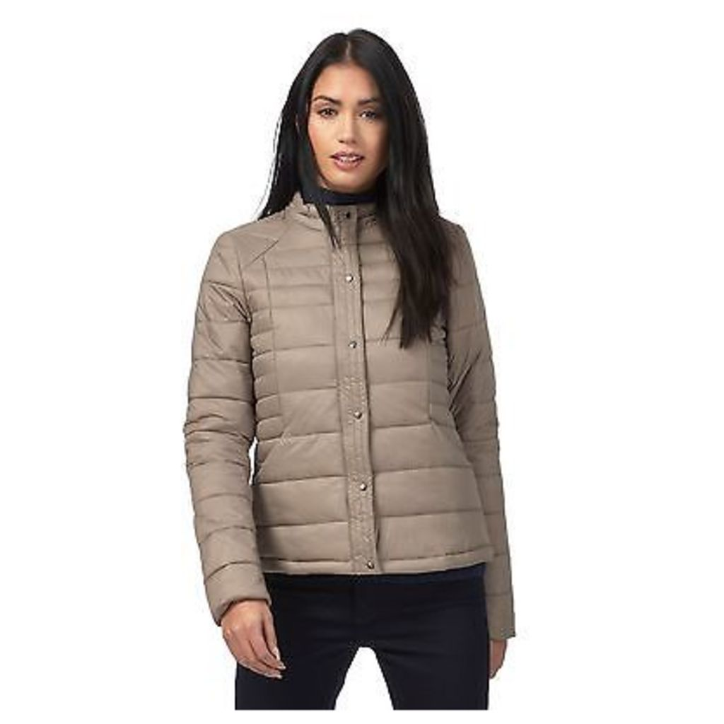 Principles By Ben De Lisi Womens Taupe Padded Packaway Jacket From Debenhams