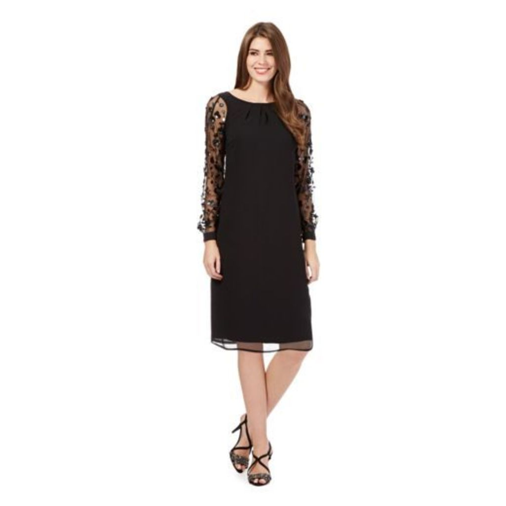 Debut Womens Black Sequin Tunic Dress From Debenhams 6