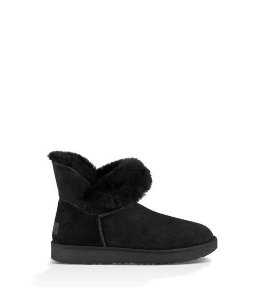 UGG Classic Cuff Mini  Classic Boots Black 9