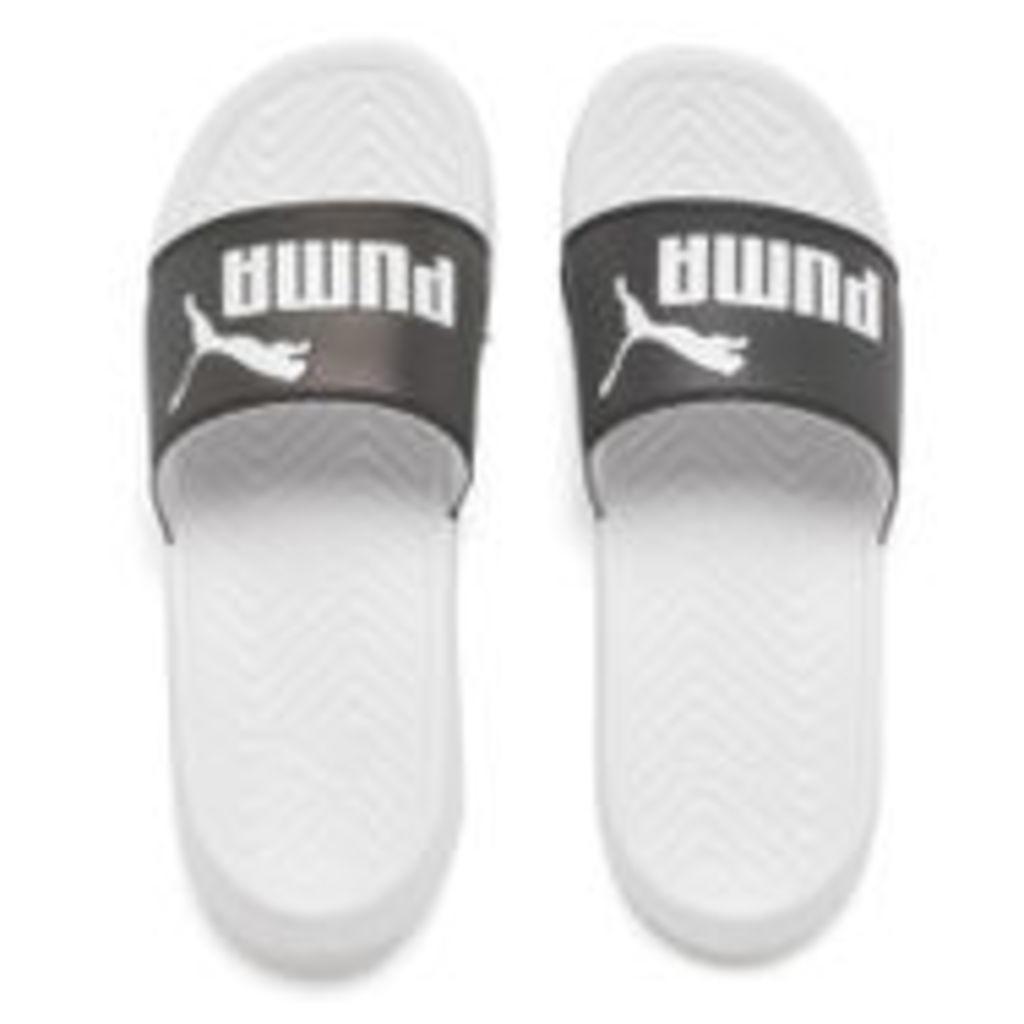 Puma Women's Popcat Swan Slide Sandals - Puma White - UK 5