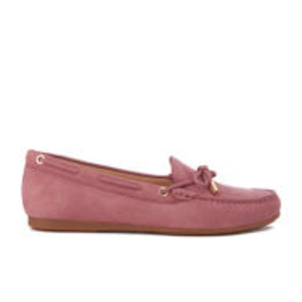 MICHAEL MICHAEL KORS Women's Sutton Moc Suede Driving Shoes - Wild Rose - US 7/UK 4