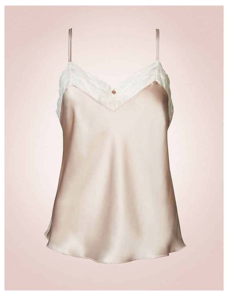 Rosie for Autograph Silk & Lace Camisole