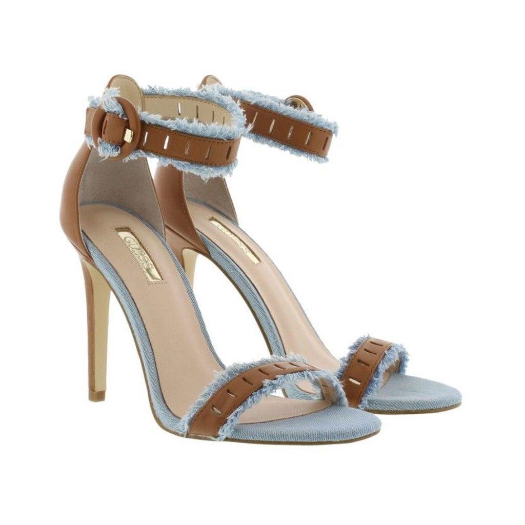 Guess Sandals - Petra Sandal Leather Tan - in beige - Sandals for ladies
