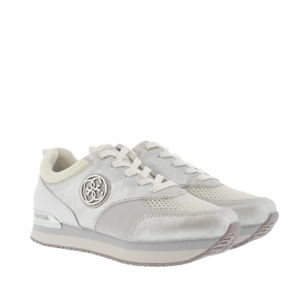 Guess Sneakers - Rimma Sneaker Leather White - in white - Sneakers for ladies