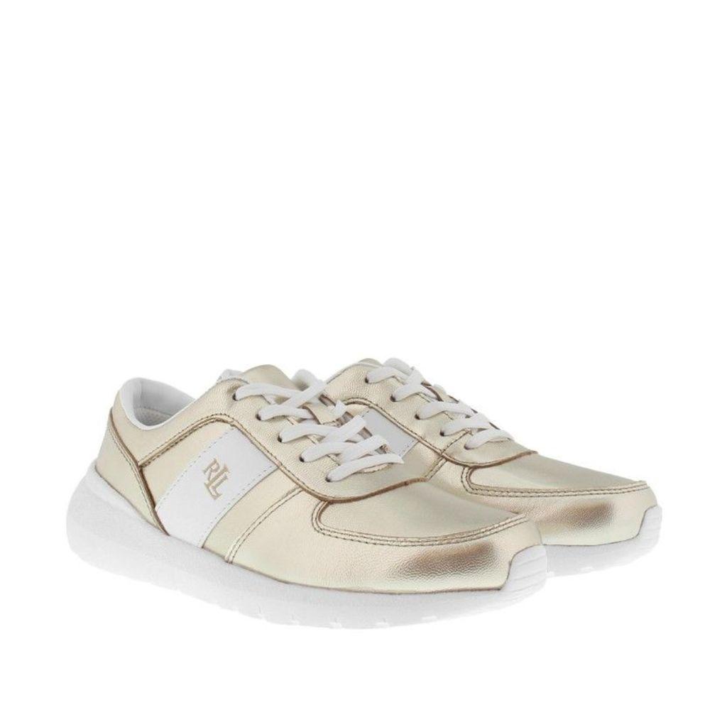 Lauren Ralph Lauren Sneakers - Jay Athletic Sneakers Platino White - in gold - Sneakers for ladies
