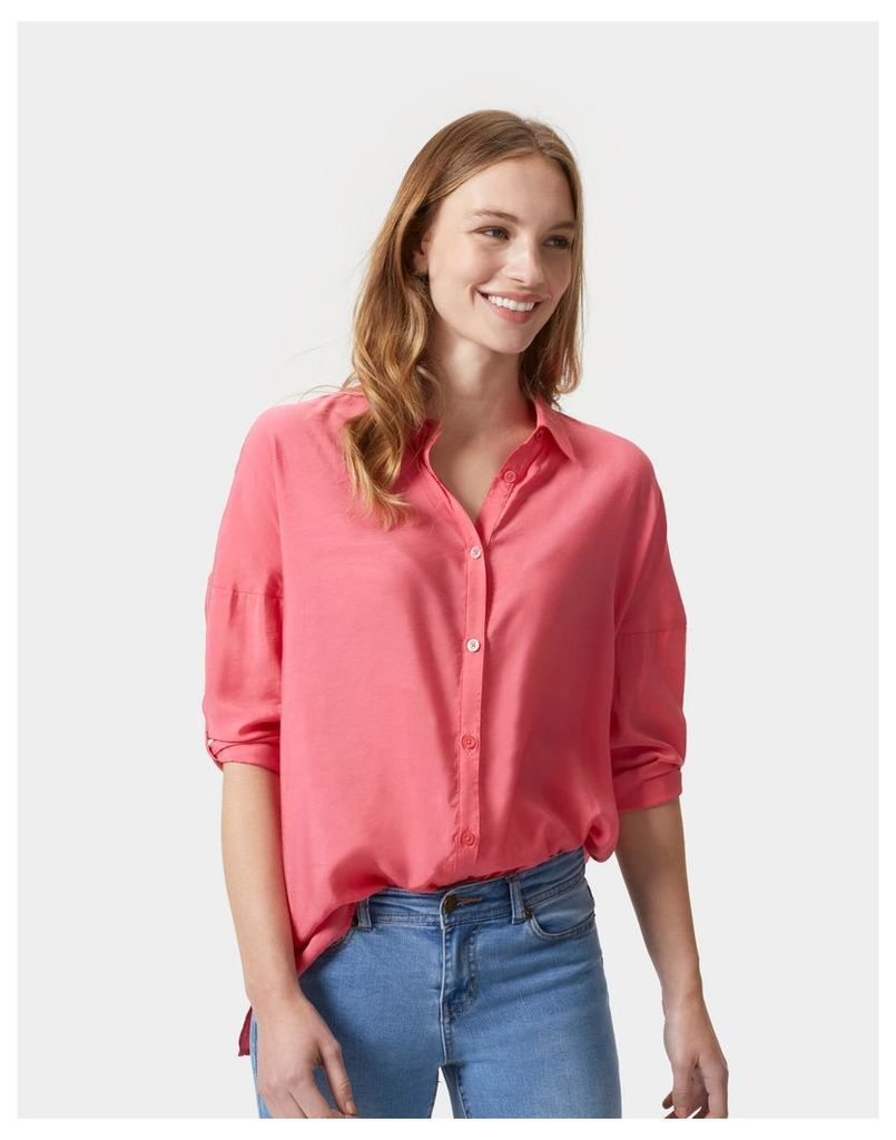 Rosehip Keeley Loose Fitting Shirt  Size 16 | Joules UK