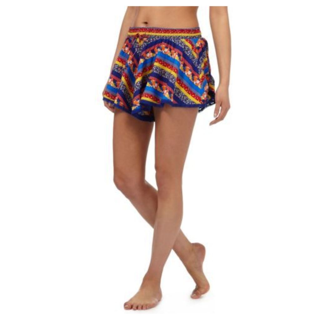 Red Herring Womens Multi-Coloured Floral Print Shorts From Debenhams