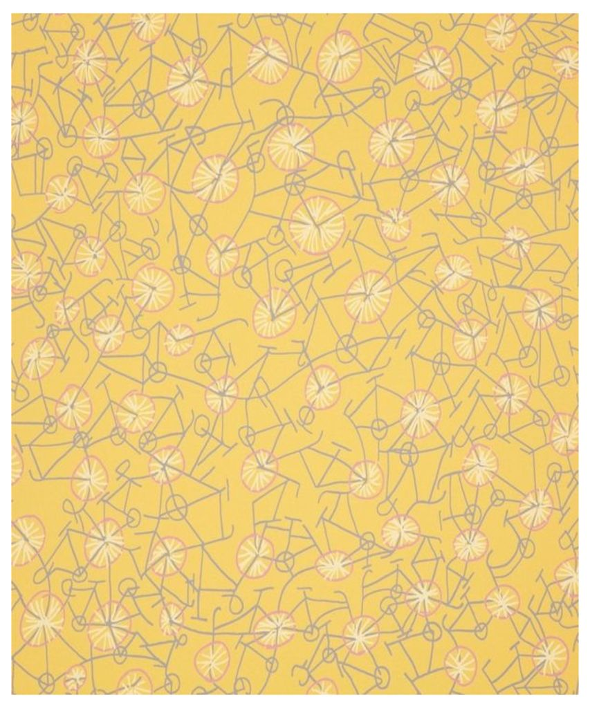 Philippa Wallpaper in Yellow Jersey