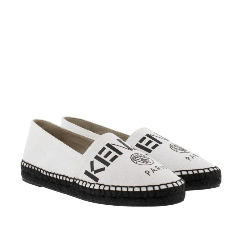 Kenzo Espadrilles - Kenzo Paris Espadrilles White - in white, black - Espadrilles for ladies