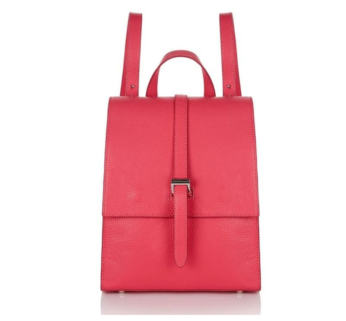 Azzurra Backpack Lipstick Pink Leather
