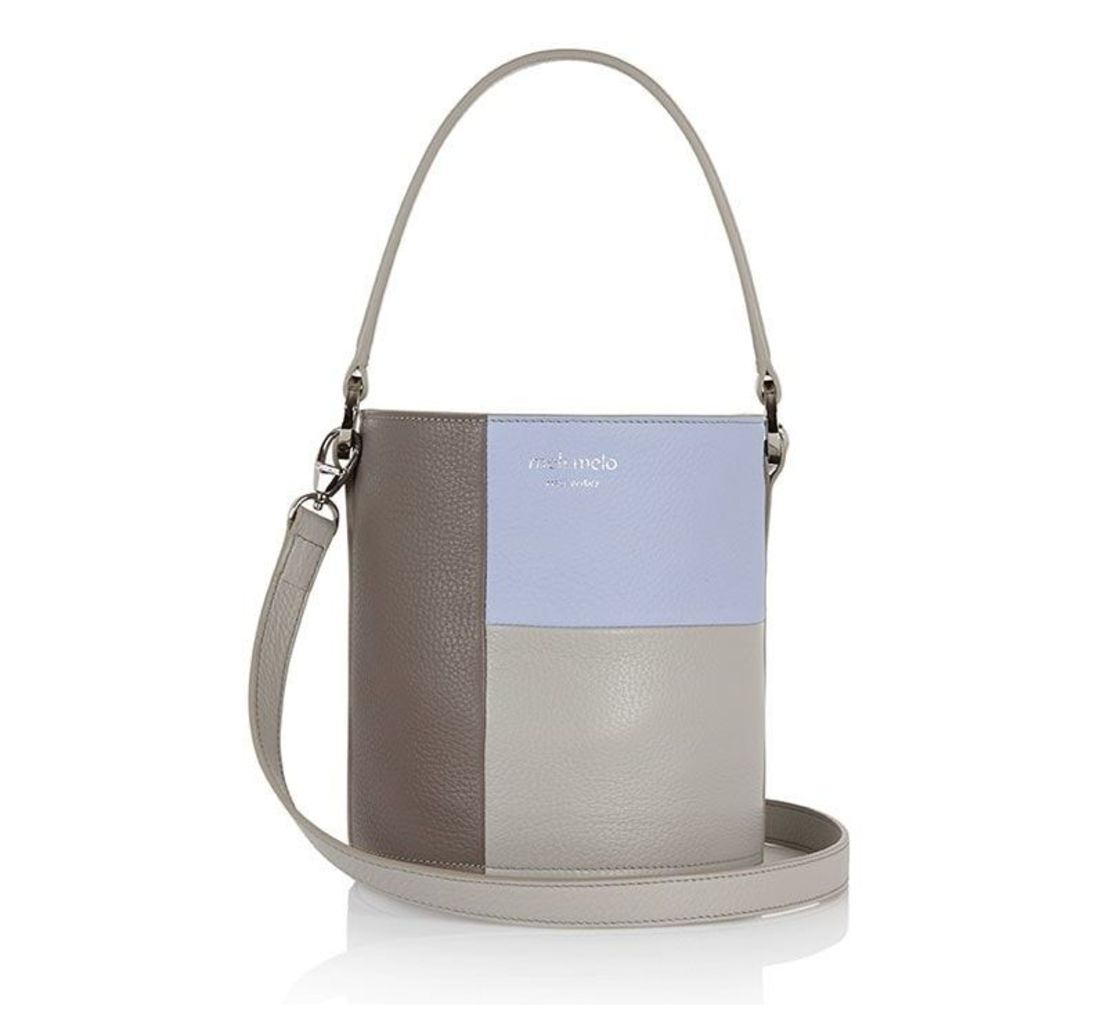 Santina Mini Bucket Bag Colour Block