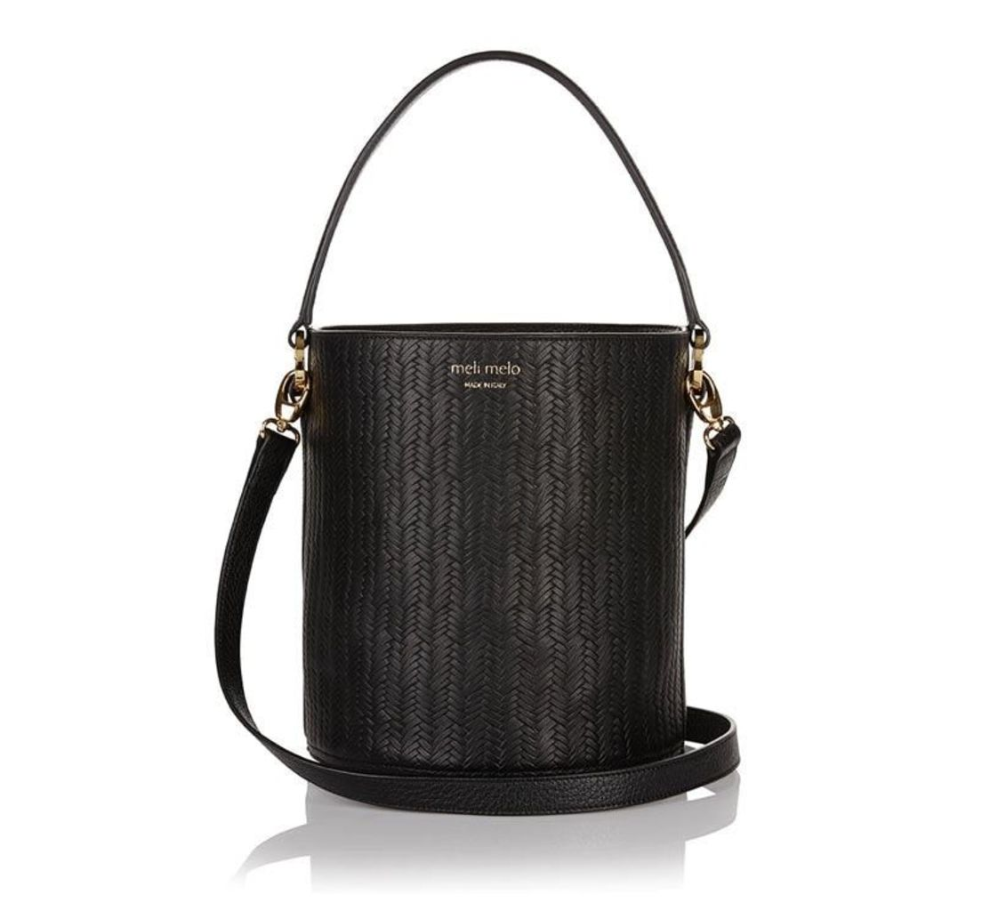 Santina Bucket Bag Black