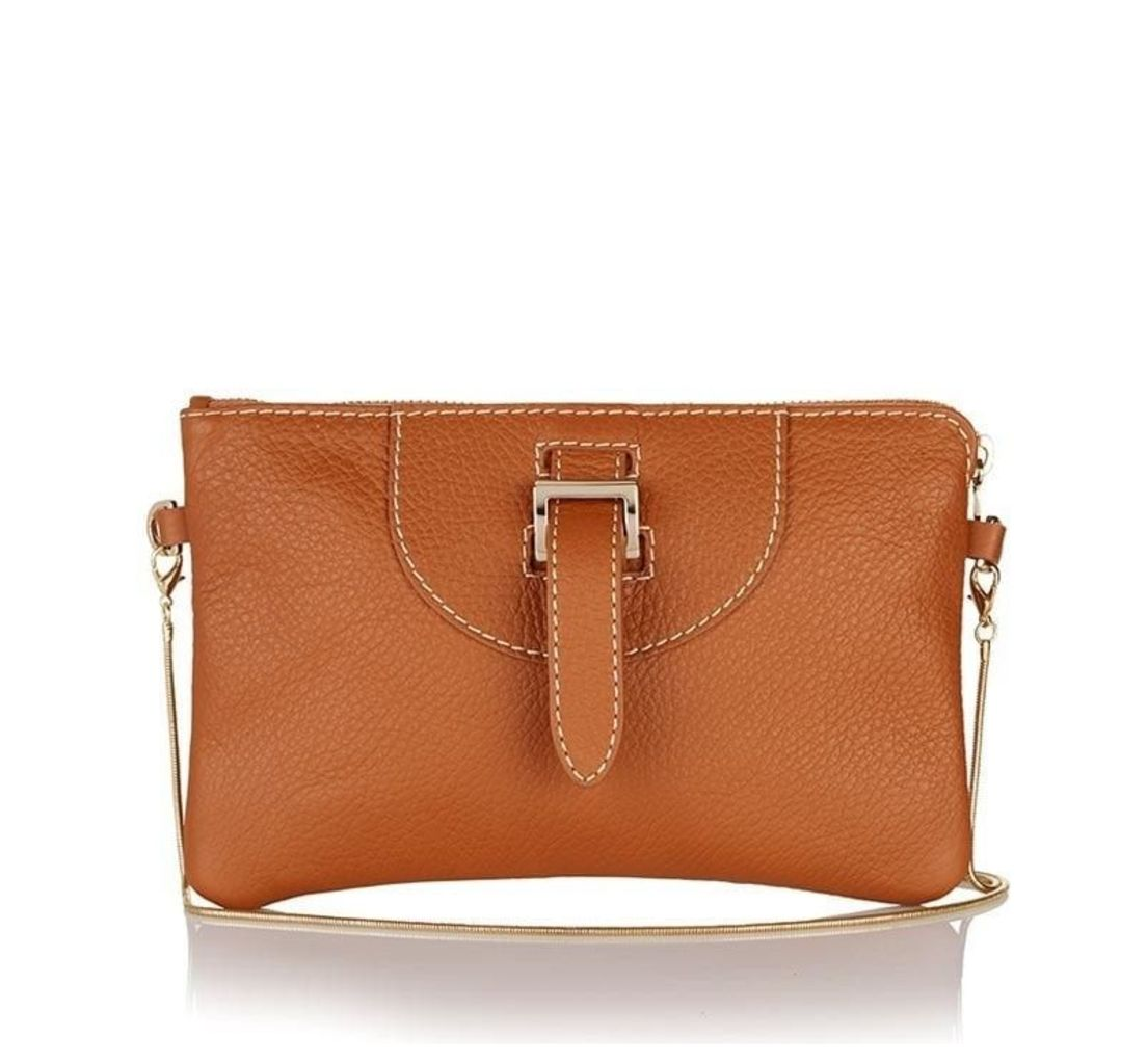 Thela Clutch Tan