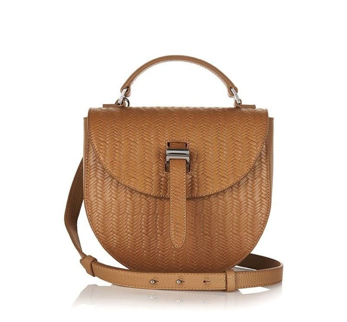 Ortensia Cross Body Bag Light Tan Woven