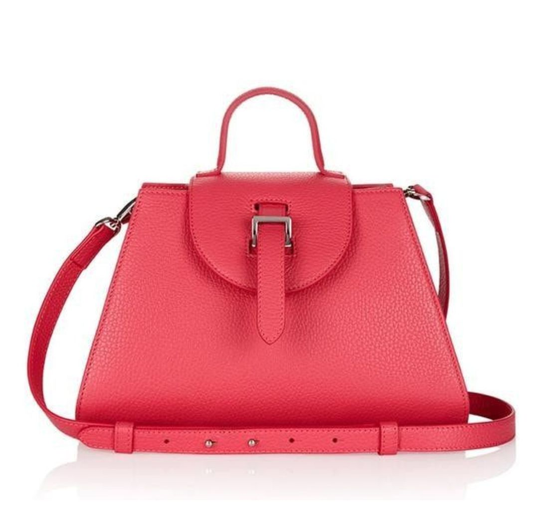 Allegra Mini Cross Body Bag Lipstick Pink