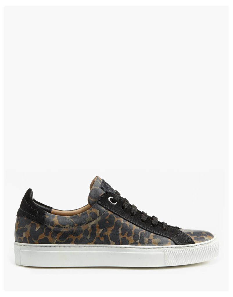 Belstaff Dagenham Low-Top Sneakers Tamsin Gold