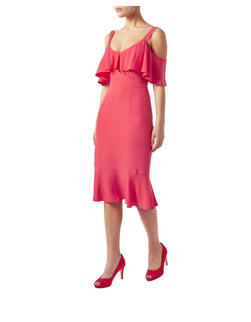 Antonella Ruffle Dress