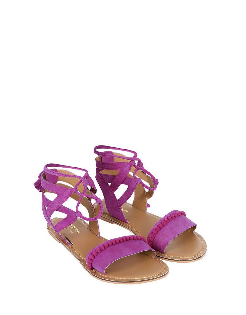 Emilia Pom Pom Sandal