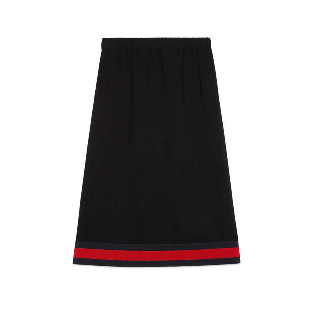 Viscose skirt with Web