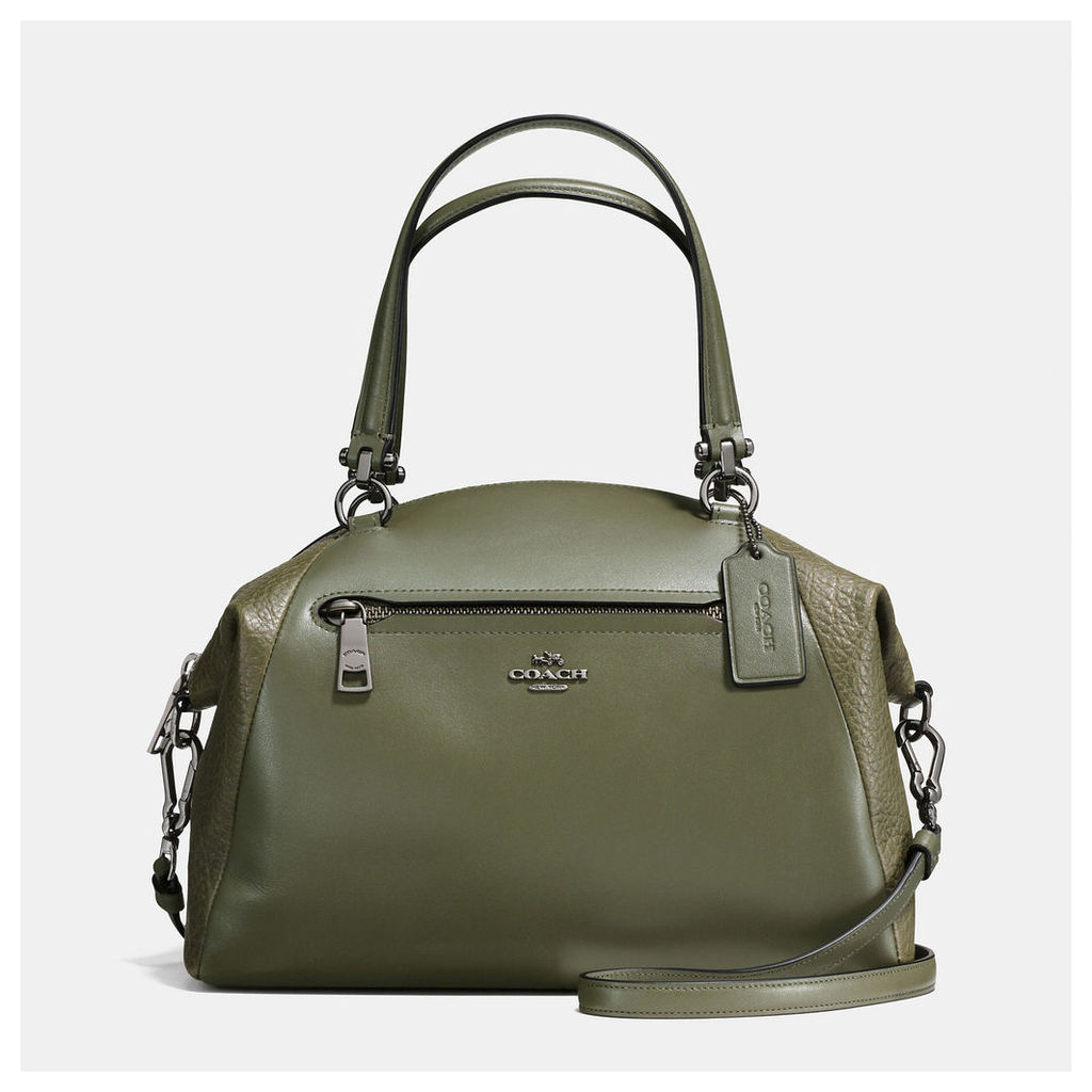 Coach Prairie Satchel In Mixed Leathers