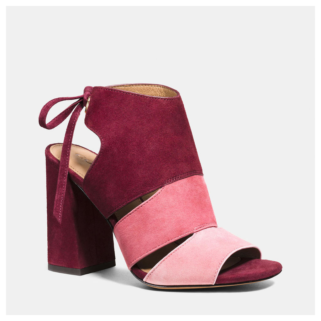 Coach Minetta Colorblock Sandal