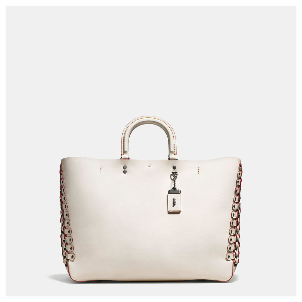 Coach Rogue Tote In Link Leather