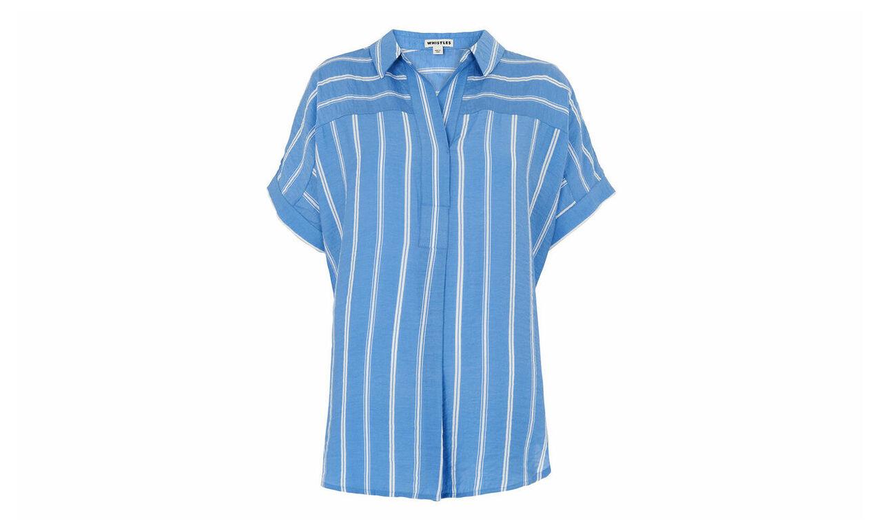 Ellen Stripe Casual Shirt