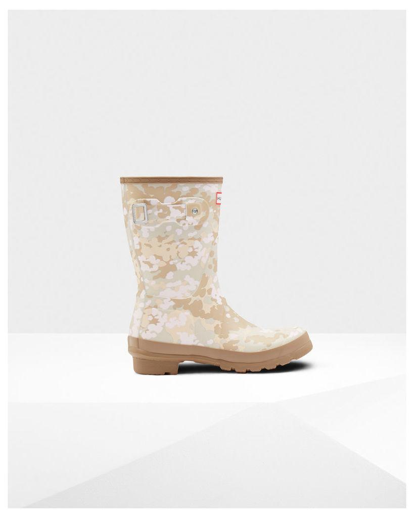 Women's Original Short Flecktarn Camo Wellington Boots