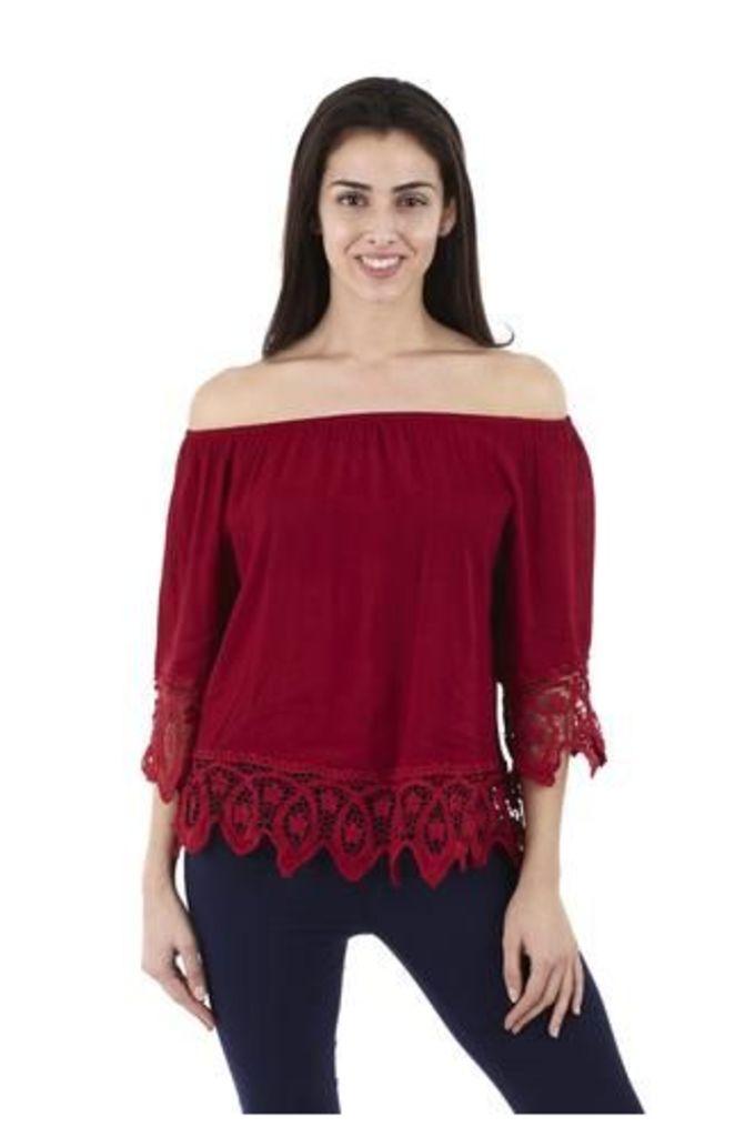 Gypsy Lace Trim Top