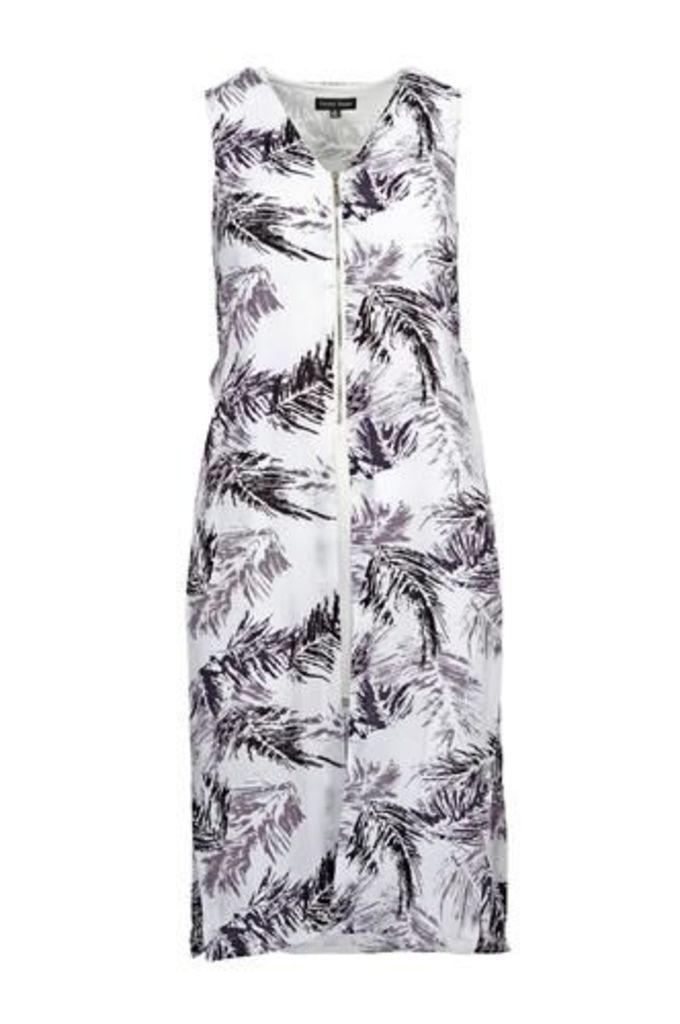 Classic Side Split Dress