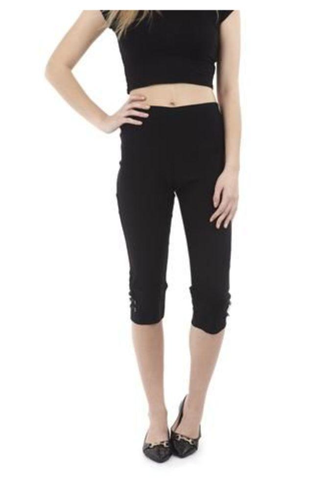Knee-Length Crop Trousers