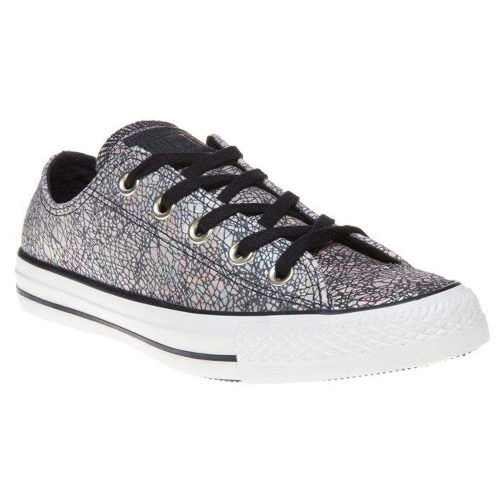 Converse All Star Ox Trainers, Black/Egret
