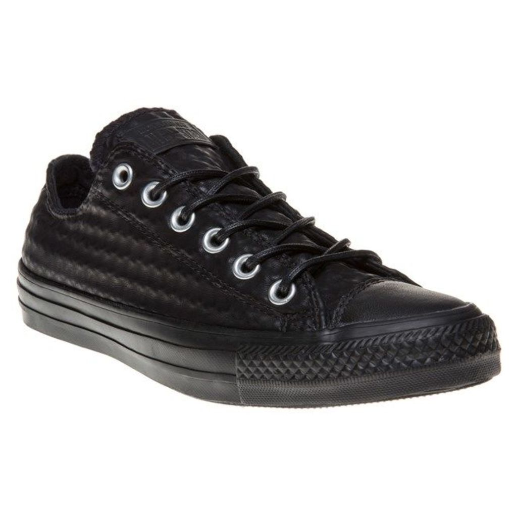 Converse All Star Ox Trainers, Black/Black