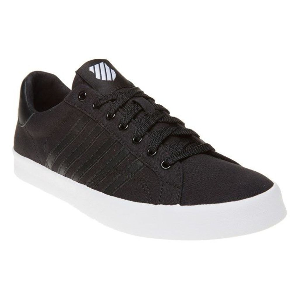 K-Swiss Belmont Trainers, Black/White
