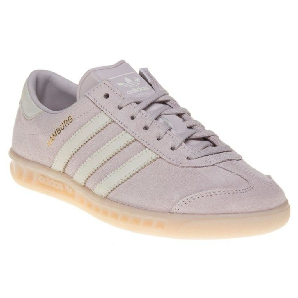 adidas Hamburg Trainers, Ice Purple