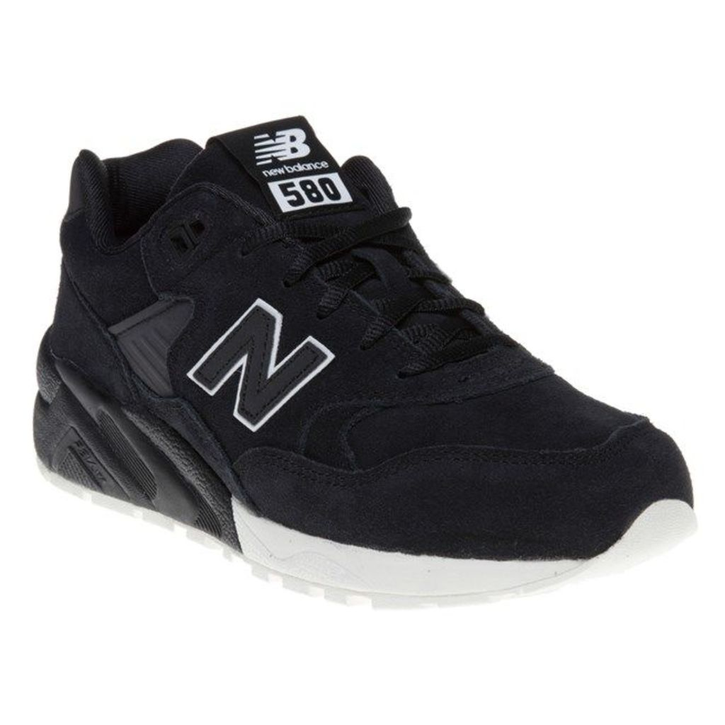 New Balance 580 Trainers, Black