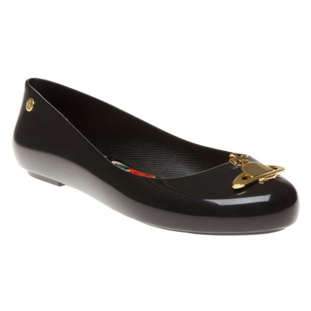 Vivienne Westwood + Melissa Space Love Orb Shoes, Black