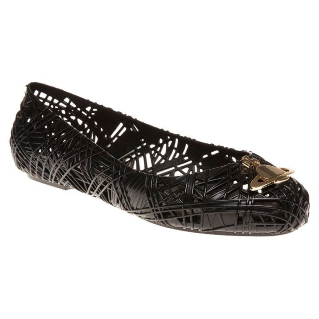 Vivienne Westwood + Melissa Scribble Shoes, Black