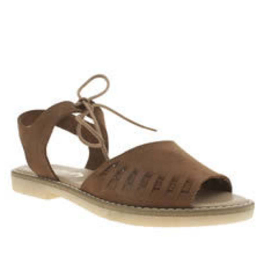 Schuh Tan Free Time Sandals