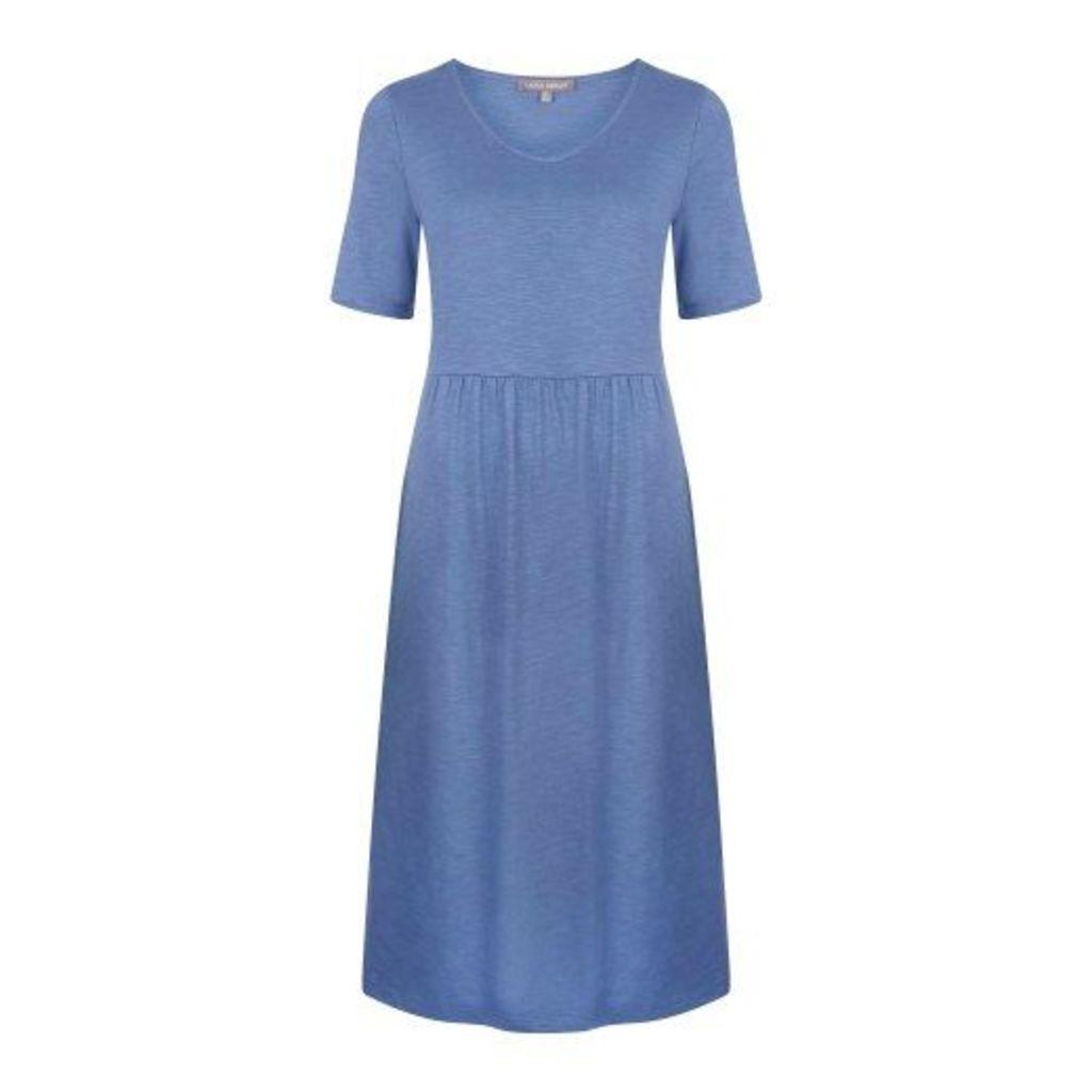 Jersey Petticoat Trim Dress