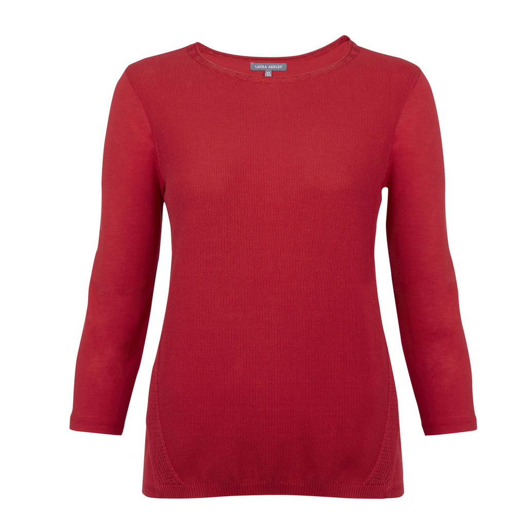 Knitted Front Panel Top