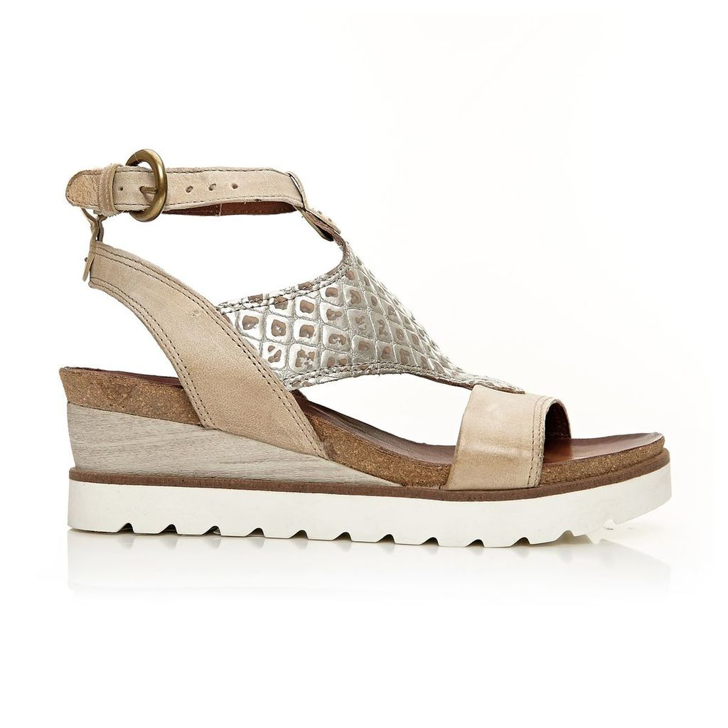 Moda in Pelle Polti Light Tan Medium Casual Sandals