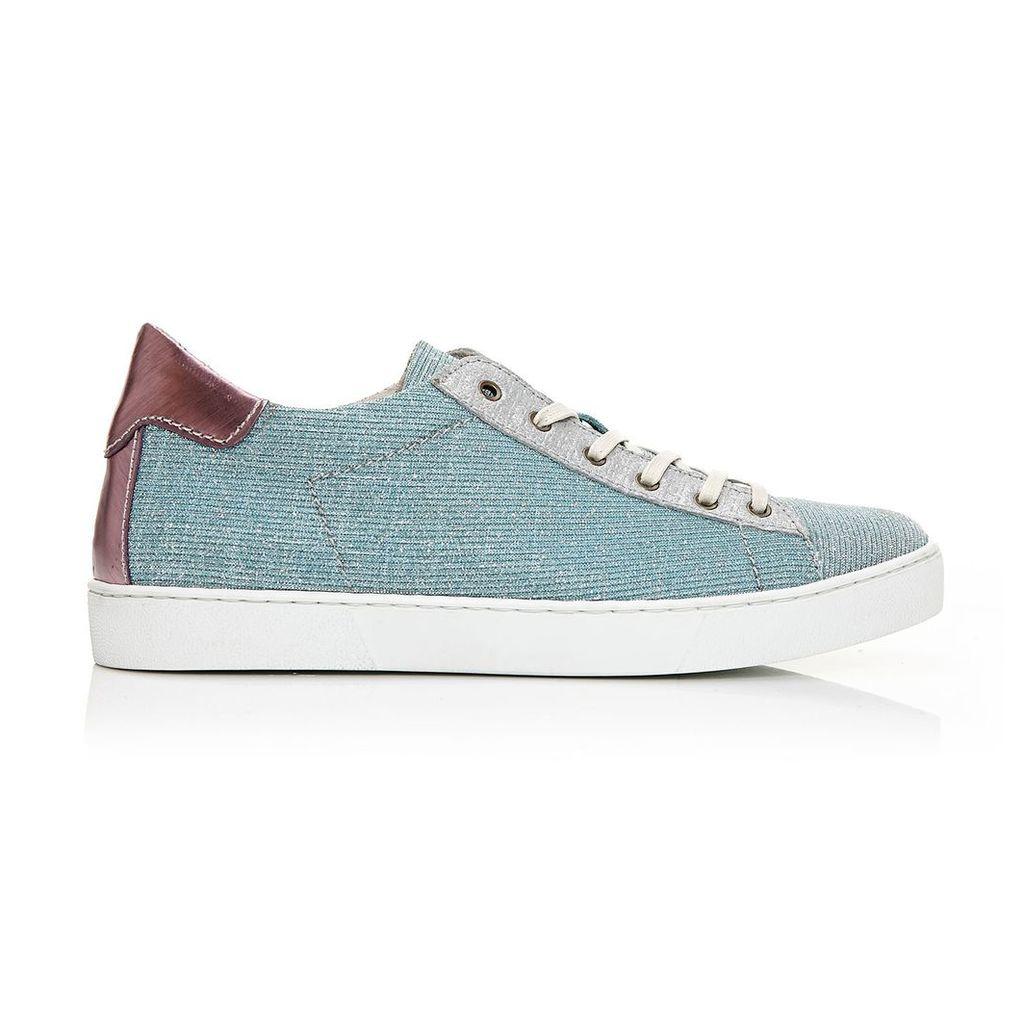 Moda in Pelle Boni Silver Low Leisure Shoes