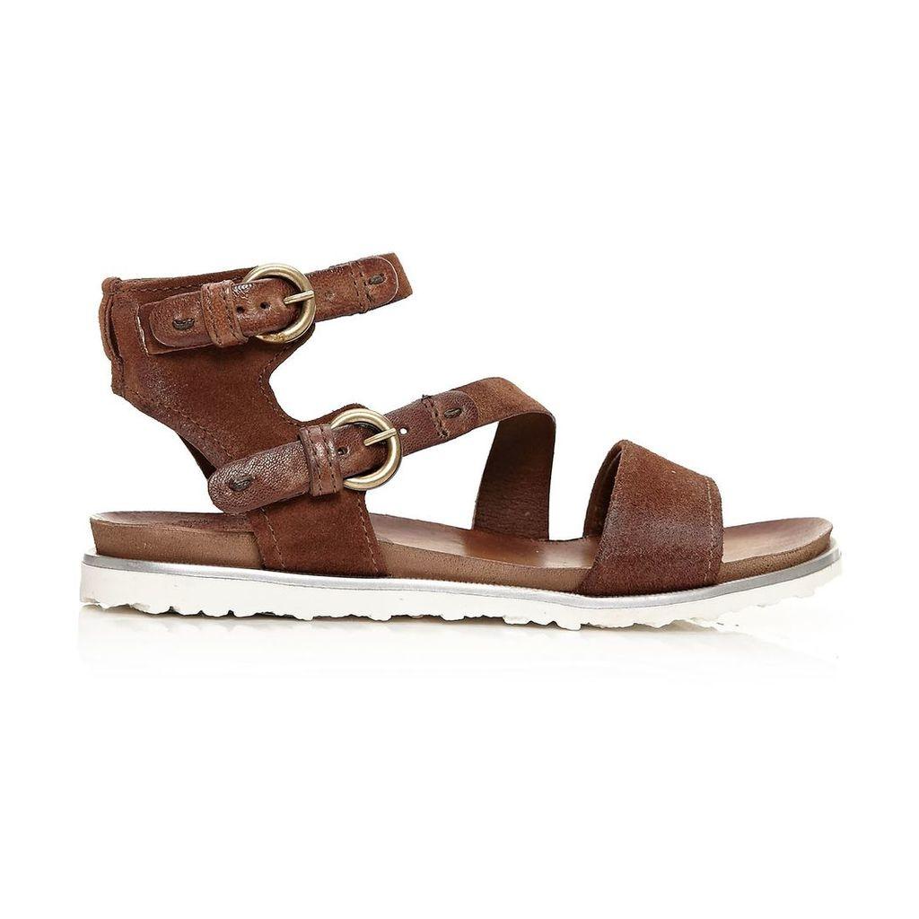 Moda in Pelle Neli Tan Low Casual Sandals