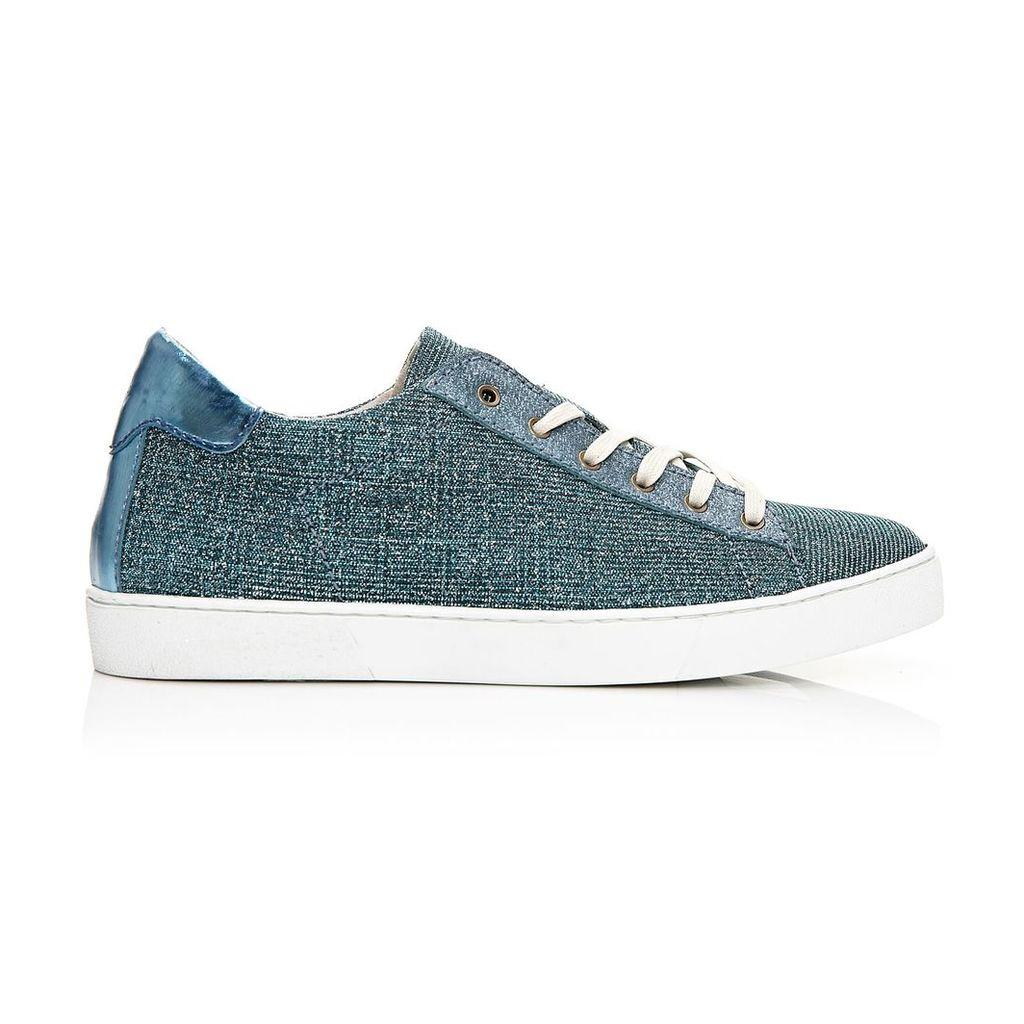 Moda in Pelle Boni Blue Low Leisure Shoes