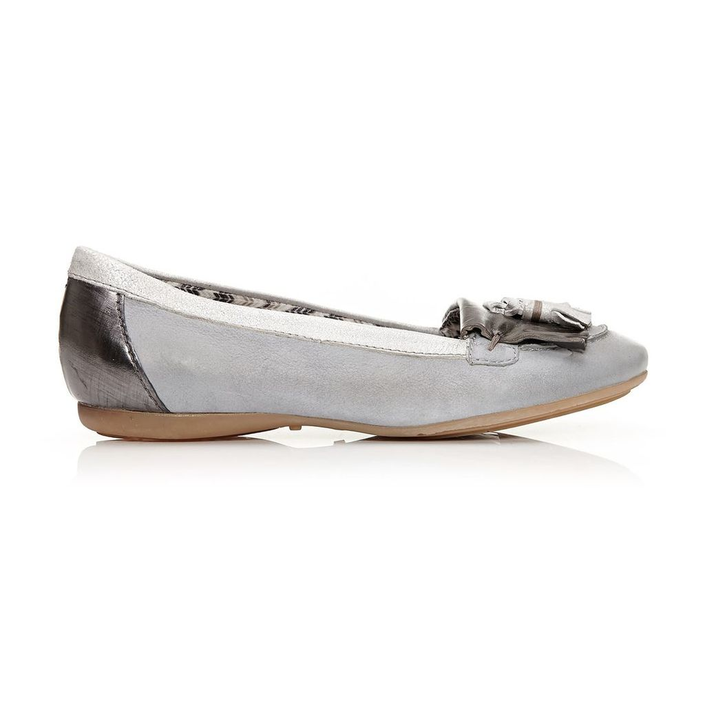 Moda in Pelle Fria White Flat Casual Shoes